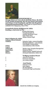 Flyer Konzert Mozart/Haydn